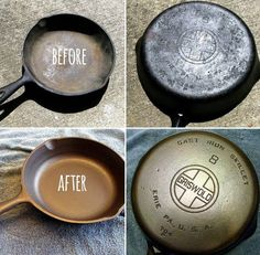"Got Rust? If your cast iron cookware has gotten ""ruined"" with Rust, don't throw it out! It can be easily saved and reseasoned. Here is a wonderful tutorial.."