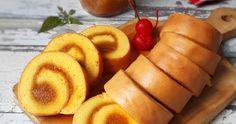 Resep Roll Cake /Bolu Gulung Super Lembut favorit. Roll cake super lembut dg bahan yg simpel plus gampang bikinnya, dg isian selai nanas homemade yg masih ada di kulkas. Dr kecil mmg paling suka mkn roll cake yg isian selai nenas, jd pas td bikin ini gk nyadar udh mkn 3potong. Recepnya dr mba @eliz_willyam di ig.