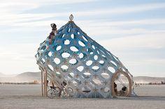 Burning Man 2011 - Zonotopia by extramatic, via Flickr