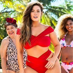 642245f182 Ashley Graham Swimsuits For All Ad Sports Illustrated 2017 Ashley Graham  Bathing Suit