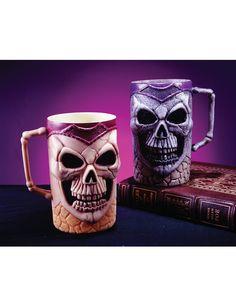 * Set Of 6 Skull Mugs *