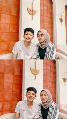 Cute Muslim Couples, Cute Couples Photos, Kpop Couples, Cute Couples Goals, Couple Goals, Best Couple Pictures, Girl Senior Pictures, Ulzzang Korean Girl, Ulzzang Couple