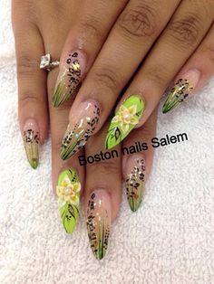 3d Nails by Sammytran - Nail Art Gallery nailartgallery.nailsmag.com by Nails Magazine www.nailsmag.com #nailart