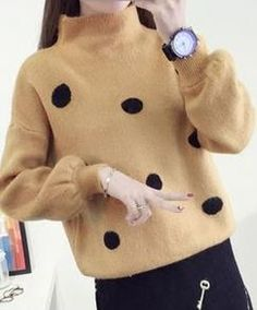 2016 new winter sweater hedging female student short paragraph bottoming shirt loose clothing autumn coat  JN916
