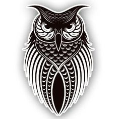 "Owl Birds Vinyl Wall Decal Home Decor 20x30"" Repositionable Wall Decal Wall Decor Stickers"
