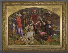 valentine rescuing sylvia from proteus holman hunt