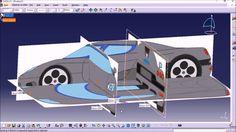How to align blueprints in Catia V5