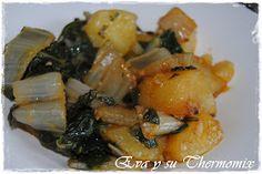 La acelga es una verdura que está muy bien de precio y bien apañada resulta un primero muy rico. En mi casa las comemos bastante y la receta...