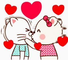 Cute Gifs, Cute Love Gif, Dont Break My Heart, Love Heart Gif, Cute Cartoon Pictures, Cute Love Pictures, Animated Cartoons, Animated Gif, Calin Gif