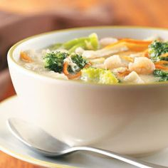 Shrimp Egg Drop Soup Recipe - I'm going to have to try this one!