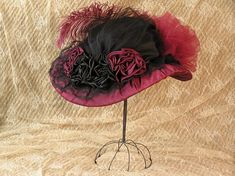 victorian hats ladies | victorian hats for women - Google Search #HatsForWomenFancy