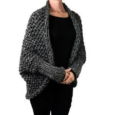 FREE Cocoon Knitting Pattern by Brome Fields