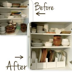 Home hacks smart Ideas for 2019 Home Organisation, Kitchen Cabinet Organization, Kitchen Storage, Kitchen Room Design, Interior Design Kitchen, Storage Hacks, Diy Storage, Muji Home, Trendy Home