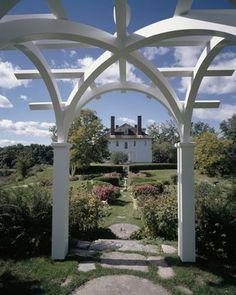 Hamilton House historic home and gardens