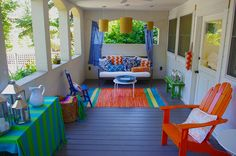 Caribbean colors for party decor