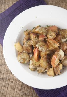 Potato, Apple and Chicken Sausage Bake + GIVEAWAY!