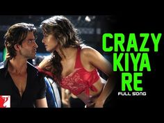 Crazy Kiya Re - Song - Dhoom:2 Hindi Movie Song, Movie Songs, Hindi Movies, Bollywood Music Videos, Latest Bollywood Songs, Dhoom 2, Sunidhi Chauhan, Hrithik Roshan, Movies To Watch