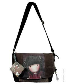 Shoulder Bag, Ruby - Santoro's Gorjuss