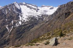 Marco MCMLXXVI posted a photo:  Macugnaga. Italy.  This is the deep valley of Mondelli, with the summits of Battel, on the left, and Joderhorn.  The valley ends up at Mondelli Pass, 2840m (9,360ft), on the borderline with Switzerland. Mondelli Pass was one of the routes mostly used by smugglers 'till the 70s of the last century. The industrialization was spreading like a desease in the big plane, and the people living in this area of the Alps had only two choice: move in a big city or…