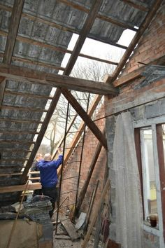 remontu ciąg dalszy - dach i pokój