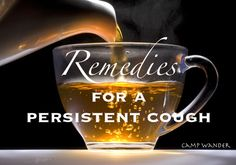 EO Remedies for a Persistent Cough