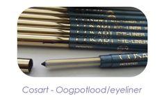 De oogpotloodjes van Cosart zijn zacht en daardoor gemakkelijk aan te brengen. Deze praktische uitdraaibare potloden hoeven niet te worden geslepen, dus geen verspilling. Bovendien zijn de eyeliners wis- en watervast en ook geschikt voor contactlensdragers en mensen met gevoelige ogen. De eyeliners  zijn- net als de overige make-up producten van Cosart - hypoallergeen en niet getest op dieren. Verkrijgbaar in prachtige kleuren!