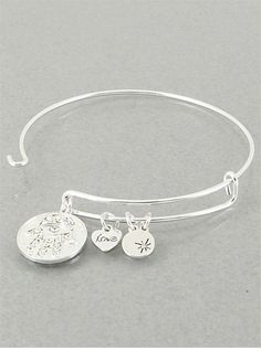 P.S. I Love You More Boutique | Silver Hamsa & Evil Eye Protection Charm Bracelet | www.psiloveyoumoreboutique.com
