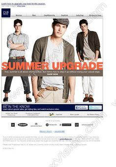 Company:  Gap Inc Subject:  There's More to Summer Than Shorts and Ts               INBOXVISION providing email design ideas and email marketing intelligence.    www.inboxvision.com/blog/  #EmailMarketing #DigitalMarketing #EmailDesign #EmailTemplate #InboxVision  #SocialMedia #EmailNewsletters