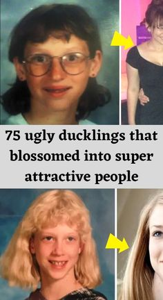 Everyone loves an inspiring story about personal transformation that's perhaps best epitomized in the famous fairytale 'The Ugly Duckling'. Ugly Duckling, Beautiful Swan, Beautiful Women, Attractive People, Being Ugly, Perfume, Looks Great, Dyed Hair, Fun Facts