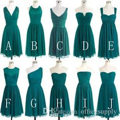 Buy wholesale discount bridesmaid dress,jr bridesmaid dress along with silk chiffon bridesmaid dresses on DHgate.com and the particular good one-simple chiffon teal green bridesmaid dresses 2016 short convertible beach bridesmaid dress wedding party graduation dresses under 50 is recommended by officesupply at a discount.