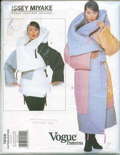 Vogue 1859 Issey Miyake Designer Original Pattern by OhSewCharming, $140.00