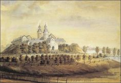 Zamek na rysunku Napoleona Ordy