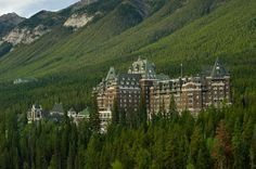 Stay at Fairmont Banff Springs Hotel, Banff National Park, Alberta, Canada - Bucket List Dream from TripBucket