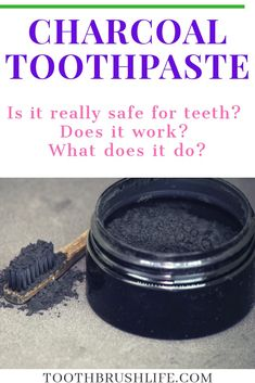 Brushing your teeth with charcoal is widely popular these days. But is this new teeth whitening trend safe? Is charcoal toothpaste safe for your teeth? Teeth Whitening Procedure, Teeth Whitening Remedies, Teeth Whitening System, Best Teeth Whitening, Activated Charcoal Benefits, Activated Charcoal Toothpaste, Charcoal Teeth Whitening, Human Digestive System, Homemade Toothpaste