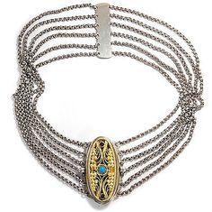 6 Reihen! antike Kropfkette aus Bayern, Silber Tracht Kette Biedermeier Collier