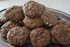 Fotorecept: Čokoládové cookies s ovsenými vločkami - Recept pre každého kuchára, množstvo receptov pre pečenie a varenie. Recepty pre chutný život. Slovenské jedlá a medzinárodná kuchyňa