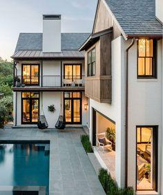 I post Interior Design & Exterior Architecture. Dream Home Design, My Dream Home, Dream Homes, Build Dream Home, Dream House Plans, Future House, Architecture Design, Home Architecture Styles, Chinese Architecture