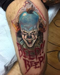 Pennywise Clown by Tony Sklepic