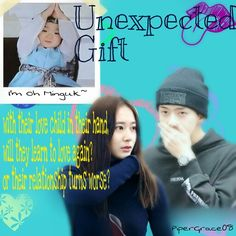 """Sestal """"Unexpected Gift"""" featuring Song Minguk!  """"With their love child in their hand, will they learn to love again? Or their relationship turns worse?""""  Sehun Krystal Soojung Oh Sehun"""