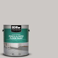 BEHR Premium 1 gal. #PPU26-09 Graycloth Gloss Porch and Patio Floor Paint