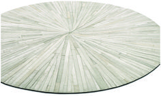 Contemporary round rugs - Quality from BoConcept Circular Rugs, Rectangular Rugs, Boconcept, Entry Way Design, Thing 1, Blue Carpet, Round Area Rugs, Cow Hide Rug, White Rug