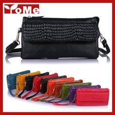 Women Handbag Clutch 2015 Multifunction Female Bag Stone Pattern Genuine Leather Small Shoulder Bags Fashion Messenger Bag,YB607