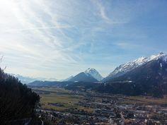 Ausblick von der Burg Freundsberg, Schwaz/Tirol Berg, Spaces, Mountains, Nature, Travel, Naturaleza, Viajes, Destinations, Traveling