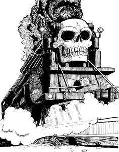 All aboard the Skull Train!