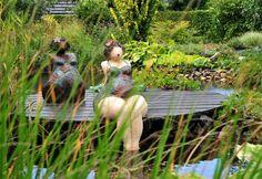 Demoiselles au jardin Céramiques et Bronzes Jacky Stappers