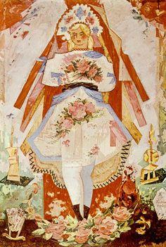 1949, Olej, SNG - Galéria Ľ. Fullu, Ružomberok, Vlastník: SNG - Galéria Ľ. Fullu, 150 cm x 100 cm Bratislava, Vintage World Maps, Czech Republic, Prague, Illustration, Artist, Roots, Painting, Inspiration
