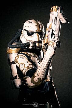 Steampunk Stormtrooper by bpvu