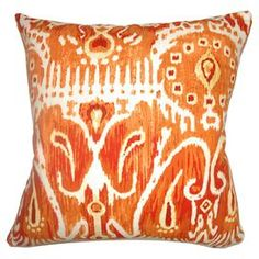 Haestingas Ikat Pillow