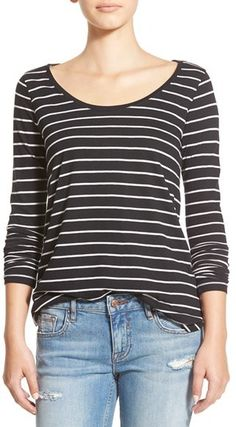 BP. Stripe High/Low Tee. Stripes are my favorite...and I love that these don't look cheesy and bulky. $10.80