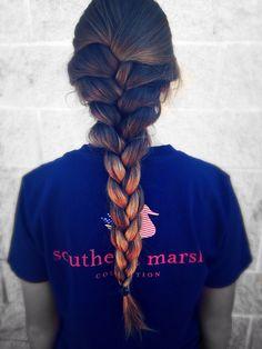 perfect hair and braid